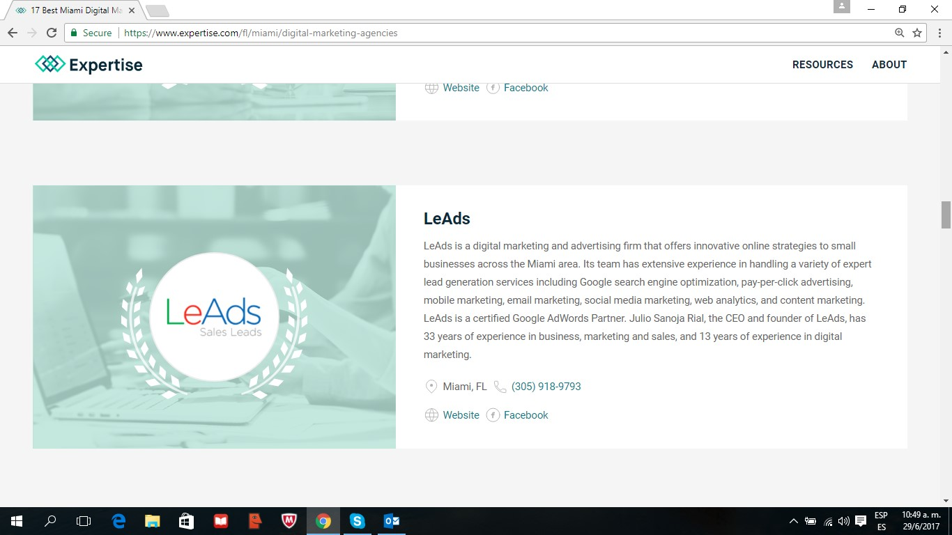MSalesLeads at Expertise