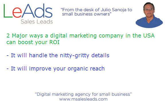 2 Major Ways a Digital Marketing Company in the USA Can Boost Your