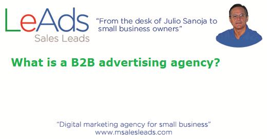 B2B Advertising Agency