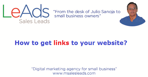How To Get Links