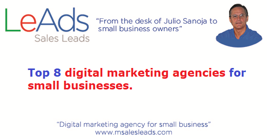 Digital Marketing Agencies for Small Businesses