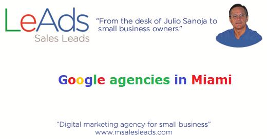 Google Agencies in Miami