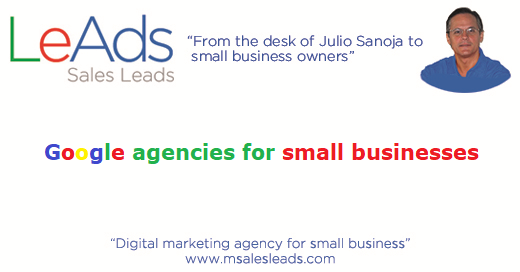 Google Agencies for Small Businesses