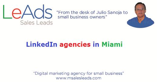 LinkedIn Agencies in Miami