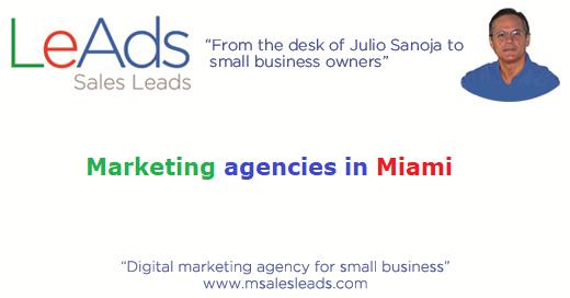Marketing Agencies in Miami