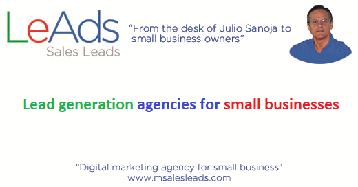 Lead generation agencies for small businesses