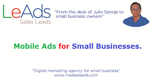 Mobile Ads for Small Businesses