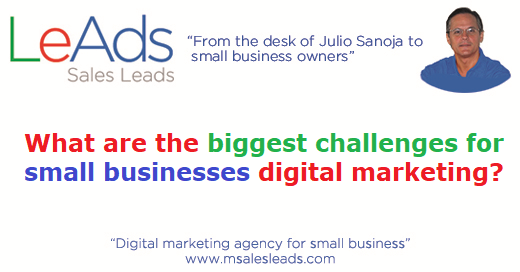 Small businesses digital marketing