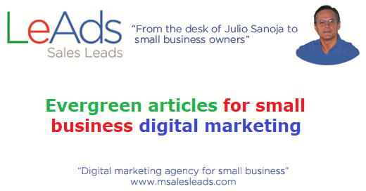 Evergreen Articles For Small Business Digital Marketing