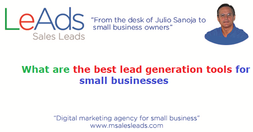 Whatarethebestleadgenerationtoolsforsmallbusinesses