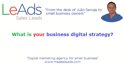 What is your business digital strategy
