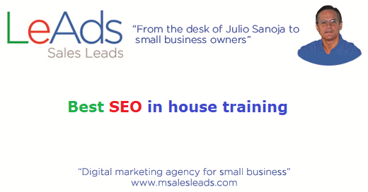 Best SEO in house training