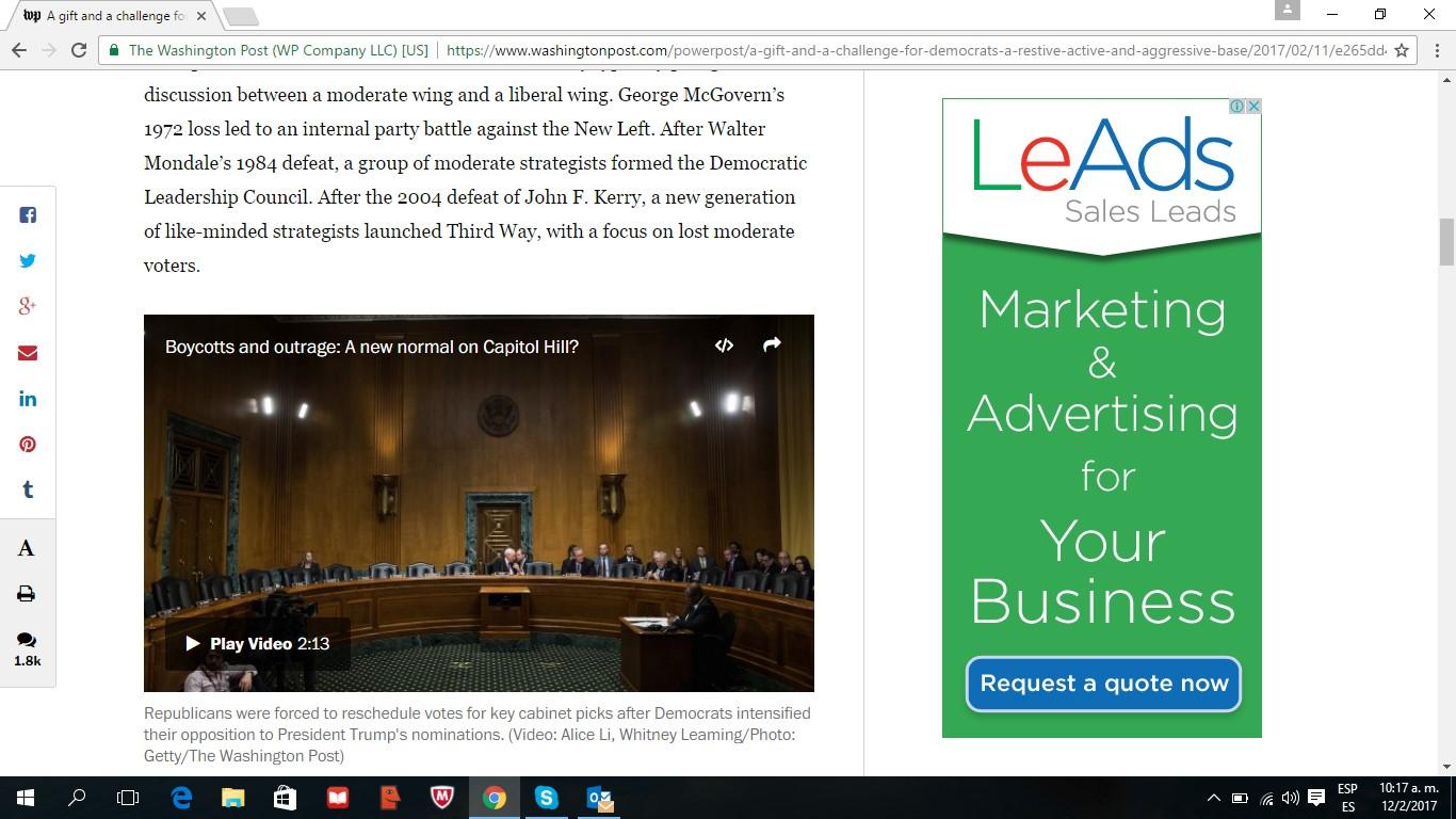 LeAds Ad at The Washington Post feb12-2017 2