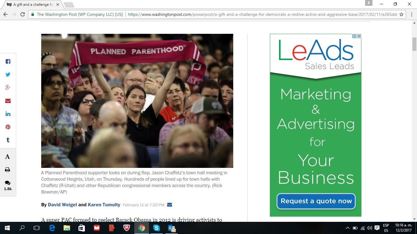 LeAds Ad at The Washington Post feb12-2017