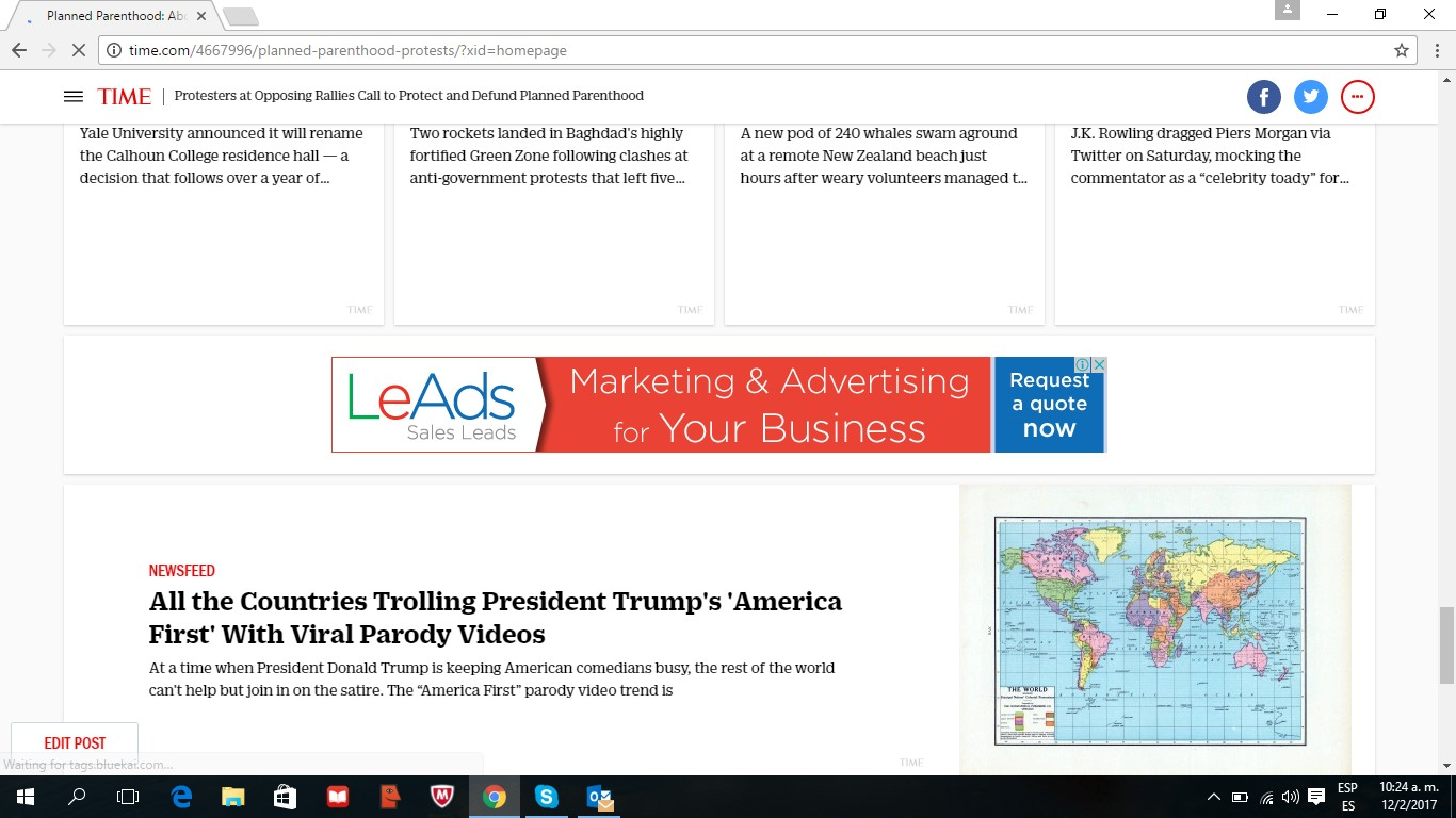 LeAds Ad at Time feb12-2017