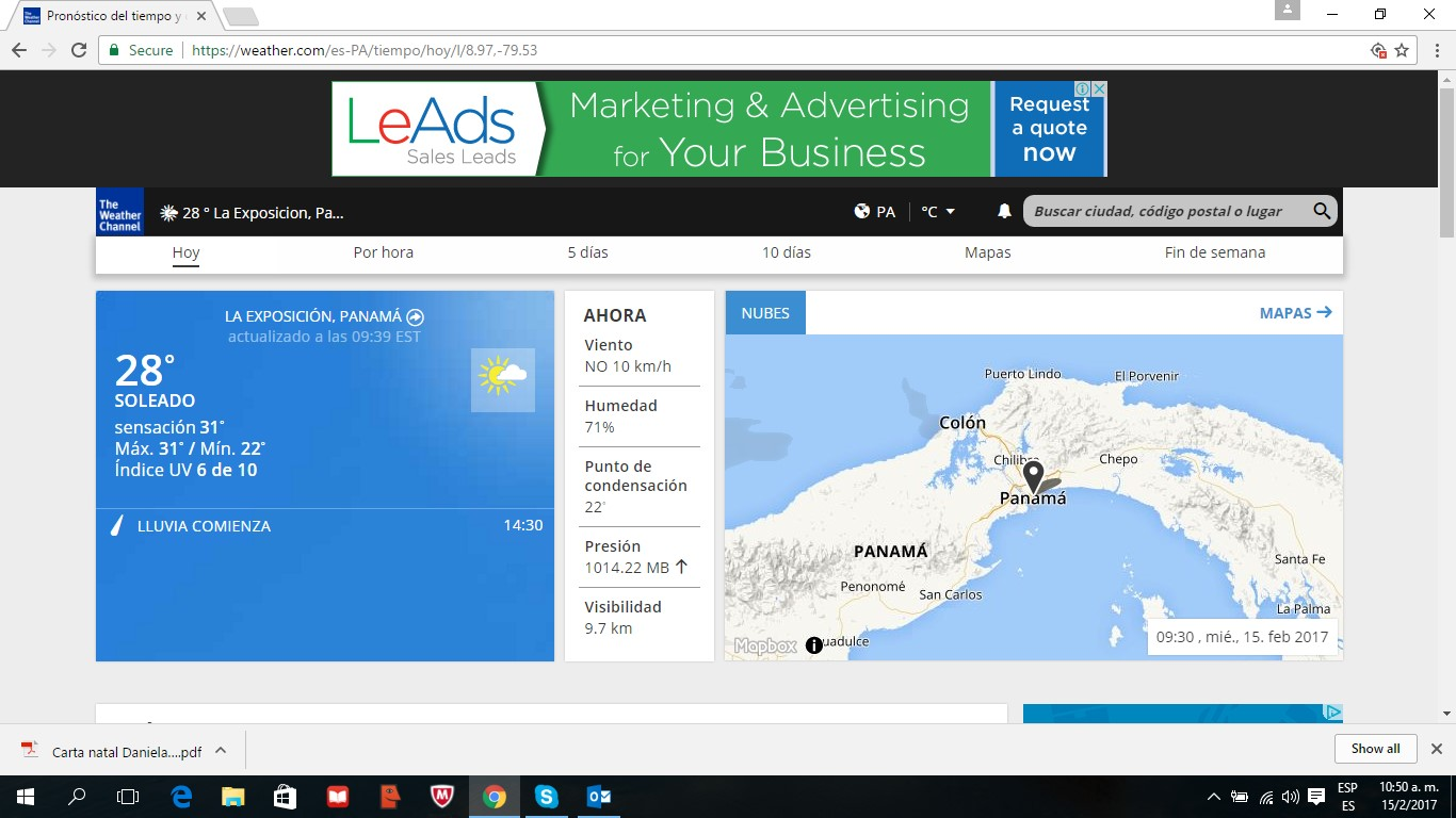 LeAds Ad at Weather feb15-2017