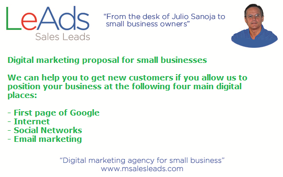 Digital Marketing Proposal