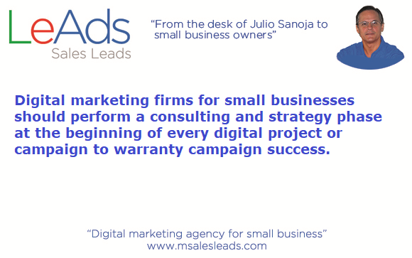 Digital marketing firms for small businesses