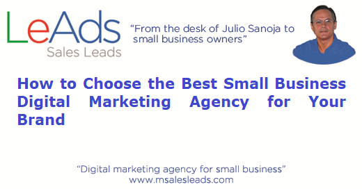 Small Business Digital Marketing Agency