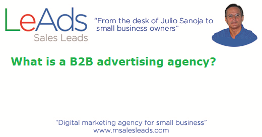 B2B Advertising Agency