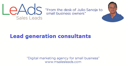 Lead Generation Consultants