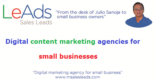 Digital Content Marketing Agencies for Small Businesses