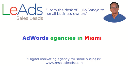 AdWords Agencies in Miami