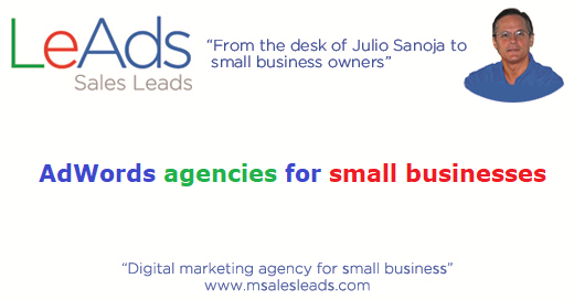 AdWords Agencies for Small Businesses