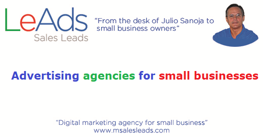 Advertising Agencies for Small Businesses