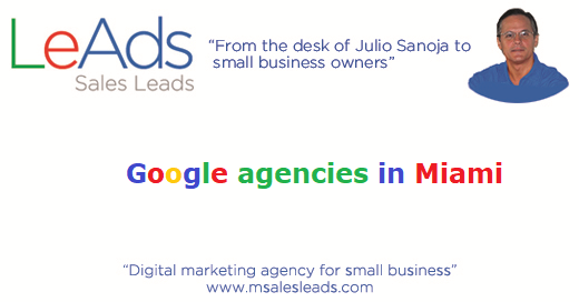 Google Agencies in Miami