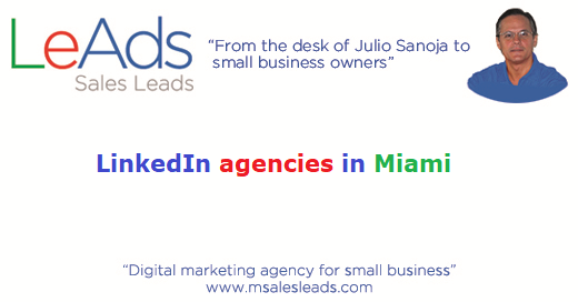 LinkedIn Agencies in Miami