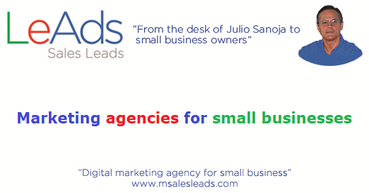 Marketing Agencies for Small Businesses