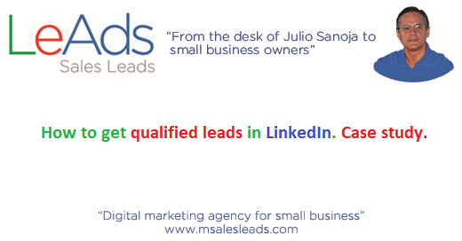 How to get qualified leads in LinkedIn