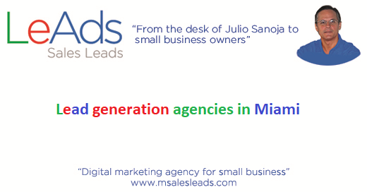 Lead generation agencies in Miami