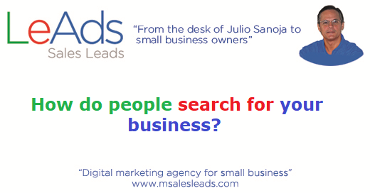 How Do People Search For Your Business