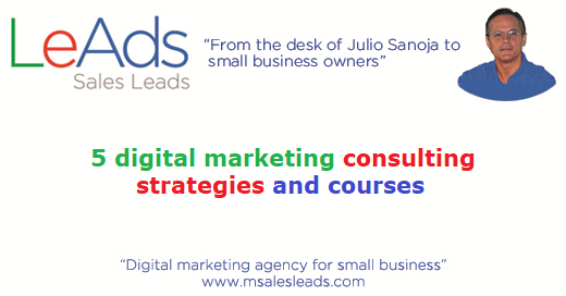 5 Digital Marketing Consulting Strategies And Courses