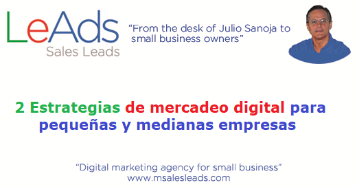 estrategias de mercadeo digital