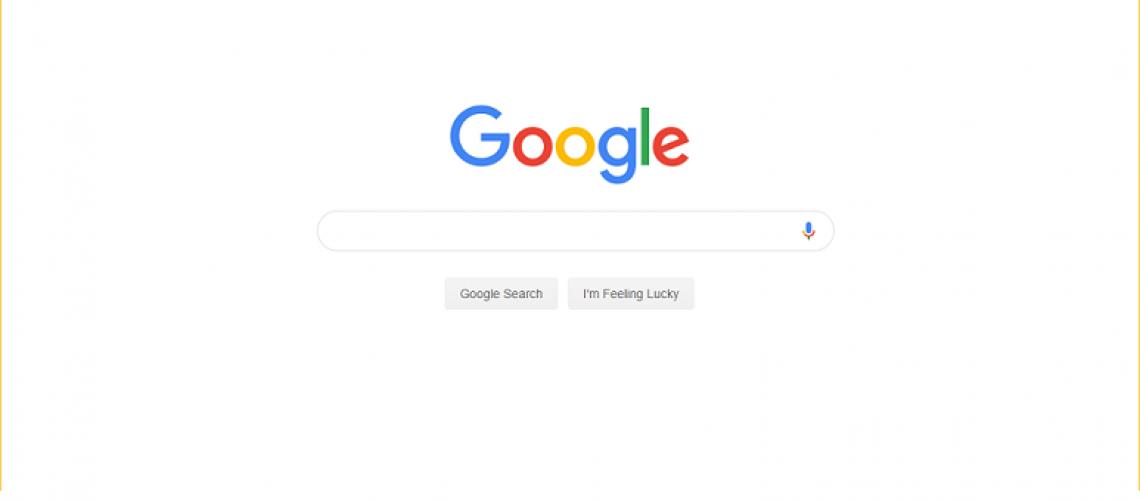 Primera pagina de Google