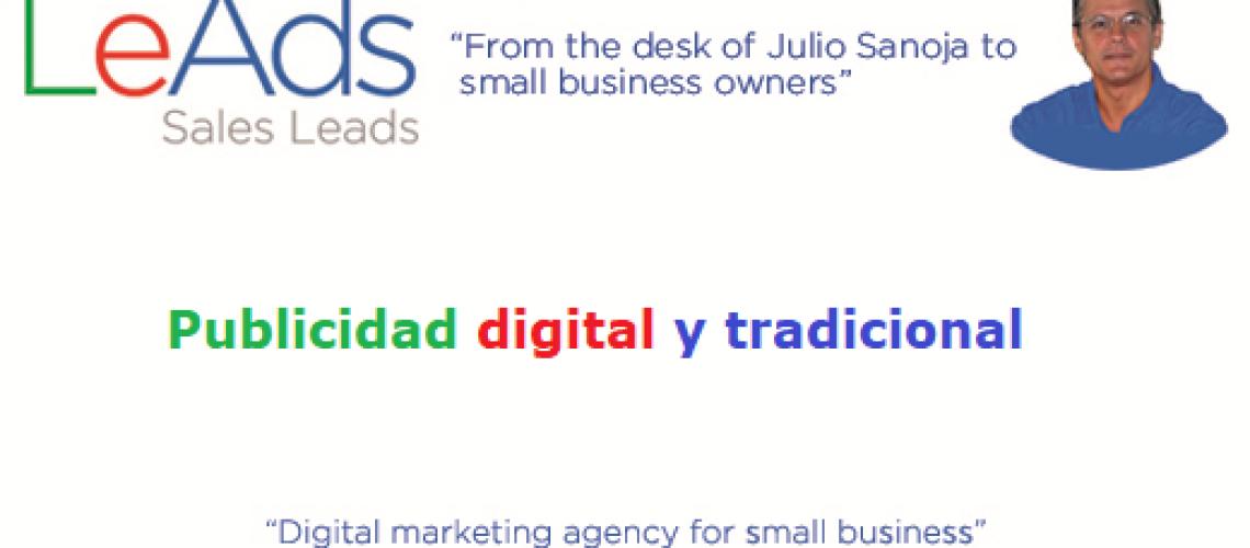 Publicidad Digital y Tradicional